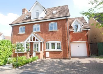 Thumbnail 5 bed detached house for sale in Cleveland Way, Stevenage