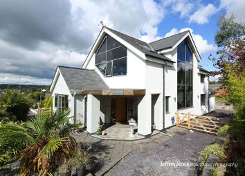 Thumbnail 4 bed detached house for sale in Cross Common Road, Dinas Powys