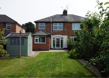 Thumbnail 3 bed semi-detached house for sale in Old Church Street, Leicester