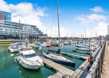 Thumbnail 2 bedroom flat for sale in Sapphire Court, Ocean Village Marina, Southampton