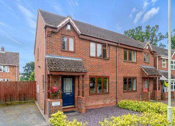 Thumbnail 3 bed semi-detached house for sale in Leasows Park, Shawbury, Shrewsbury