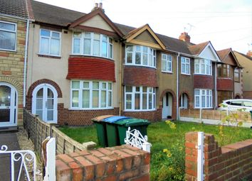 Thumbnail 4 bed terraced house to rent in Bridgeman Road, Coventry, West Midlands