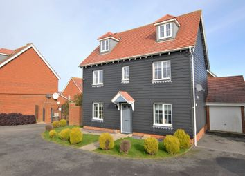 Thumbnail 6 bed detached house for sale in Lewis Road, Hawkinge