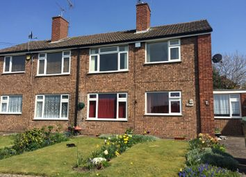 Thumbnail 1 bed flat to rent in Lincoln Drive, Cannock, Staffordshire