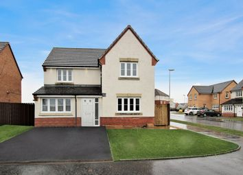 Thumbnail 5 bed detached house for sale in Challum Drive, Motherwell