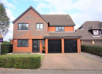 Thumbnail 5 bed detached house for sale in Eller Drive, King's Lynn