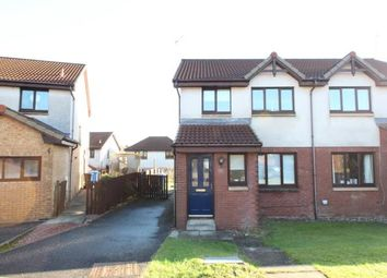 Thumbnail 3 bed semi-detached house for sale in Waverley Crescent, Livingston, West Lothian