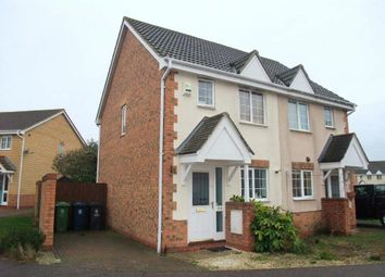 Thumbnail 2 bed semi-detached house to rent in Moat Way, Swavesey, Cambridge