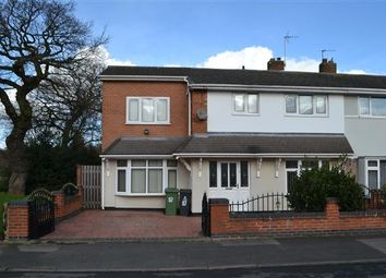 Thumbnail 4 bed end terrace house for sale in Ashbourne Road, Little Bloxwich, Walsall