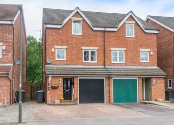 Thumbnail 4 bed town house for sale in St. Matthews Close, Renishaw, Sheffield