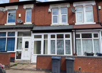 Thumbnail 3 bed terraced house to rent in Farnham Road, Handsworth, Birmingham
