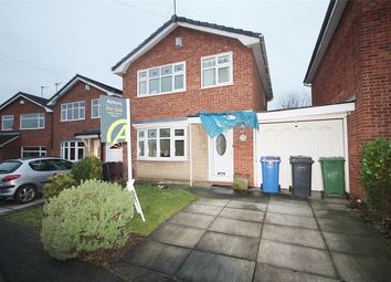 Thumbnail 3 bed detached house for sale in Monmouth Close, Woolston, Warrington