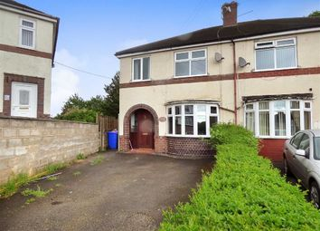 Thumbnail 3 bed semi-detached house for sale in Edge Street, Burslem, Stoke-On-Trent