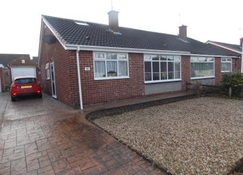 Thumbnail 3 bedroom semi-detached bungalow for sale in Easby Grove, Eston, Middlesbrough