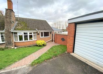 2 bed semi-detached bungalow for sale in Victoria Road, Pinxton, Nottingham NG16