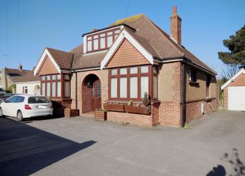 Thumbnail 4 bed detached bungalow for sale in Grinstead Lane, Lancing