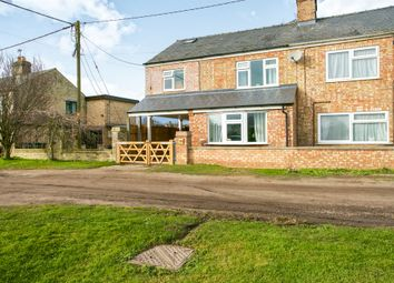 Thumbnail 3 bed semi-detached house for sale in East Fen Common, Soham, Ely