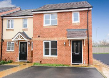 Thumbnail 3 bed end terrace house for sale in Burchell Avenue, Stone, Staffordshire