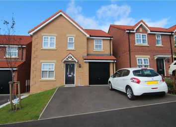 Thumbnail 4 bed detached house for sale in Hogarth Close, Ushaw Moor, Durham
