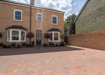 Thumbnail 4 bed end terrace house for sale in White Hart Lane, Soham, Ely