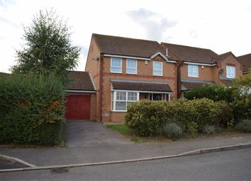 Thumbnail 3 bed detached house to rent in Wardle Place, Oldbrook, Milton Keynes, Buckinghamshire