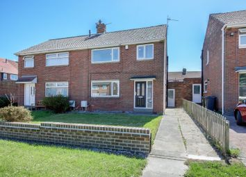 Thumbnail 3 bed semi-detached house for sale in Lilburn Road, Shiremoor, Newcastle Upon Tyne, Tyne And Wear