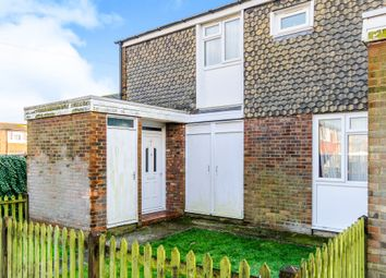 Thumbnail 2 bedroom end terrace house for sale in Alfred Close, Canterbury