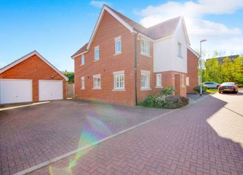 Thumbnail 4 bed detached house for sale in Scholars Crescent, Basildon