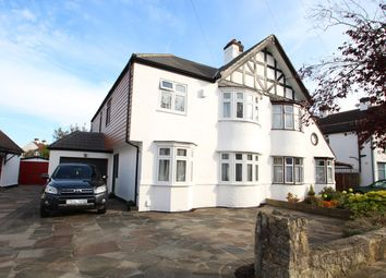 Thumbnail 4 bed semi-detached house for sale in The Fairway, Bickley, Bromley