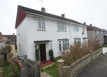 Thumbnail 3 bed semi-detached house to rent in Hemsted Road, Erith, Kent