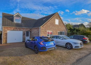 Thumbnail 4 bed detached house for sale in West Drove North, Gedney Hill, Spalding