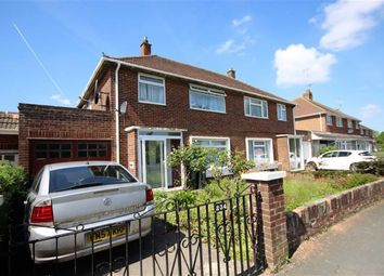 Thumbnail 3 bedroom semi-detached house for sale in Queens Drive, Old Walcot, Swindon