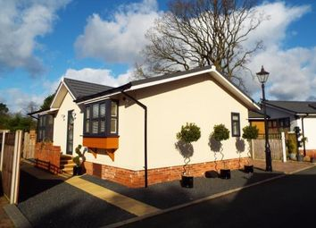 Thumbnail 2 bed mobile/park home for sale in High Croft Park, Newton Hall Lane, Mobberley, Cheshire