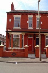 Thumbnail 3 bed end terrace house to rent in Crofton Street, Rusholme, Manchester