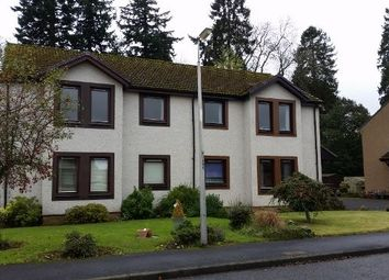 Thumbnail 2 bed flat to rent in Miller Road, Luncarty, Perthshire