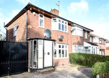 Thumbnail 3 bed semi-detached house for sale in Honeypot Lane, Stanmore, Middx