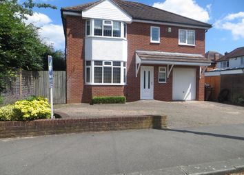 Thumbnail 4 bed detached house to rent in Redhouse Close, Bentley Heath, Solihull