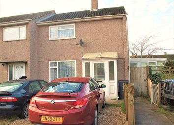 Thumbnail 2 bedroom end terrace house for sale in Monkton Close, Swindon