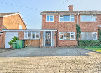 Woodlands Road, Irchester, Wellingborough NN29. 3 bed semi-detached house