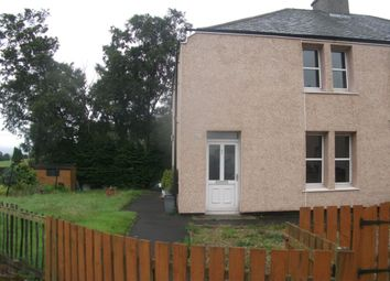 Thumbnail 2 bed semi-detached house to rent in Milne Street, Carstairs, Lanark