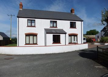 Thumbnail 4 bed detached house for sale in Golwg Y Mor, Square And Compass, Haverfordwest
