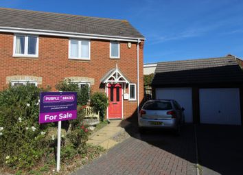 Thumbnail 3 bedroom semi-detached house for sale in Carmel Close, Poole