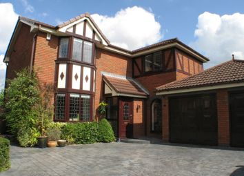 Thumbnail 4 bed detached house to rent in Old Oak Gardens, Preston, Lancashire