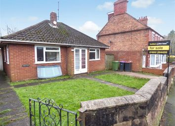 Thumbnail 2 bedroom detached bungalow for sale in Hollyhurst Road, Telford, Telford, Shropshire