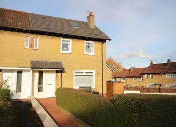 Thumbnail 3 bed end terrace house for sale in Merrylee Road, Glasgow