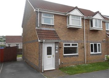 Thumbnail 3 bed semi-detached house to rent in Stepney Mews, Cwmbwrla, Swansea