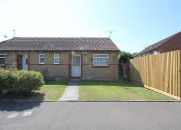 Thumbnail 1 bed semi-detached bungalow for sale in Lapwing Close, Penarth