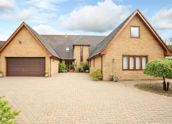 Thumbnail 5 bed detached house for sale in Spaldwick Road, Stow Longa, Huntingdon, Cambridgeshire