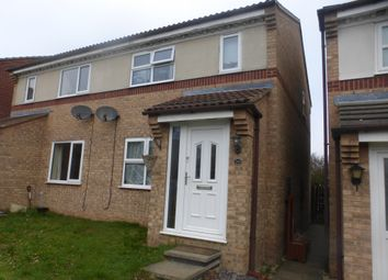Thumbnail 3 bed semi-detached house for sale in Hawks Way, Sleaford