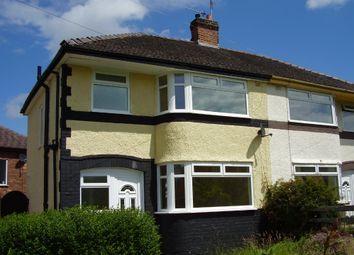 Thumbnail 3 bedroom detached house to rent in Fairway North, Bromborough, Wirral